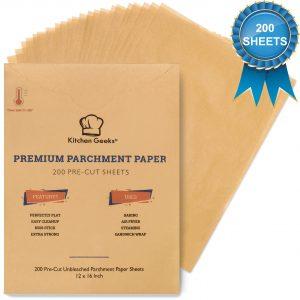 kitchen geeks parchment paper